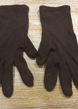 Зимние текстильные перчатки