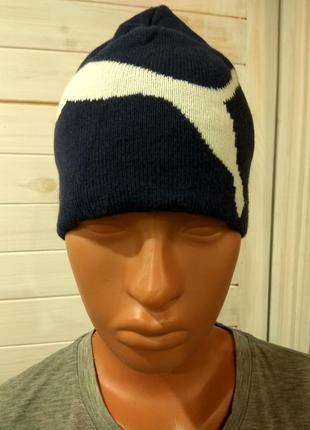 Детская зимняя шапка puma
