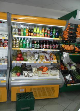 Холодильная витрина ,Горка, Регал. Торговое оборудование. БУ