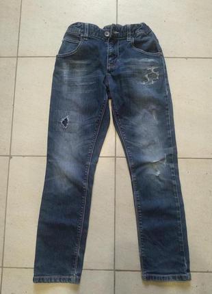 Джинсы (штаны) beneton jeans (размер l, stretch)