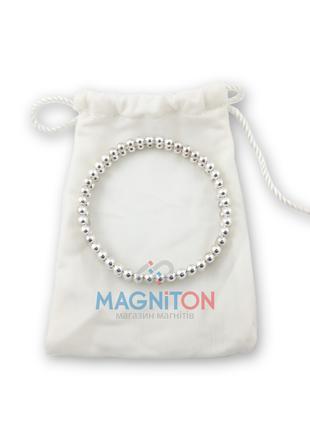 Магнитный браслет Б10 мужской