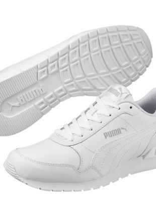 Кожаные кроссовки puma st runner, огигинал, новые