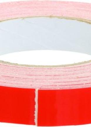 Скотч двусторонний, пена, толщ 0,8мм, ширина19мм, длина 10 метров