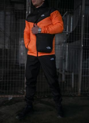 Комплект мужской TNF куртка+ штаны + барсетка TNF в подарок!