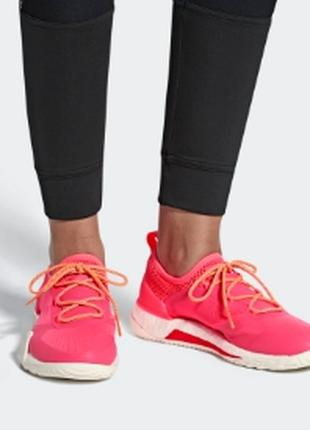 Adidas by stella-pure boost x tr3 цвет neon pink, Oригинал