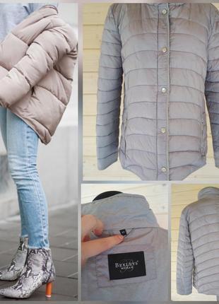 ..фирменная базовая легкая куртка пуховик, супер качество !!!