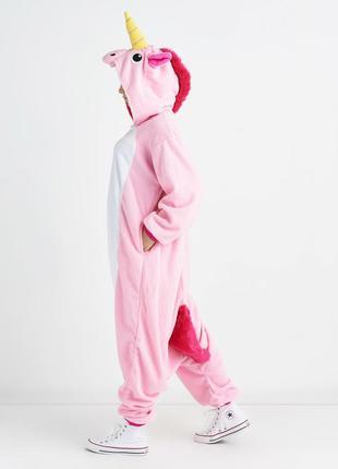 Кигуруми единорог розовый пижама