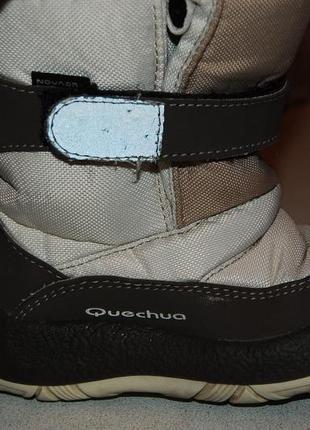 Зимние термо ботинки quechua 24 размер