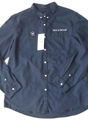 Рубашка pull&bear хл