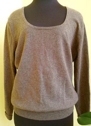 Шерсть мериноса и кашемир. джемпер woolovers пуловер свитер ко...