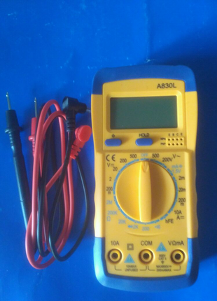 A830L .Цифровой мультиметр с ЖК-дисплеем.
