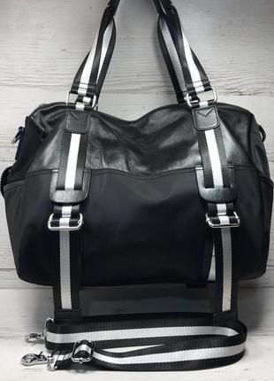 Женская большая сумка спортивная дорожная сумка для зала спорт...