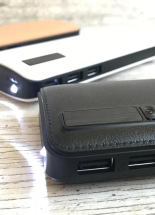 PowerBank 40000mAh МОЩНЫЙ +LED фонарик, 3 USB, повербанк универса