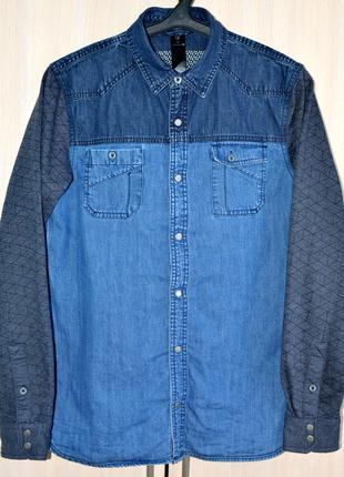 Сорочка джинсова CAPSIZE® original L сток Y9-A2-3