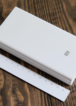 Power bank Xiaomi 20000mAh 2 USB мощный повербанк, портативная ба