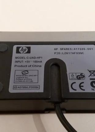 HP Wireless Receiver 5187URF+ и C-UAD-HP1 ресивер для клавиатуры