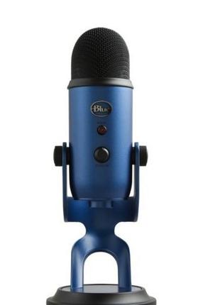 Микрофон студийный Blue Microphones Yeti (black and blue)