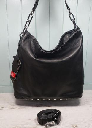 Женская кожаная сумка polina & eiterou большая жіноча шкіряна ...