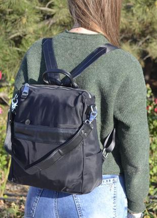Женский рюкзак сумка из плащевки жіночий ранець сумка