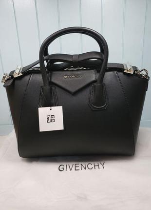 Женская сумка черная жіноча Givenchy Antigona Живанши