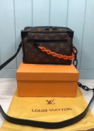 Женская сумка с цепью жіноча з цепочкой Louis Vuitton Луи Виттон