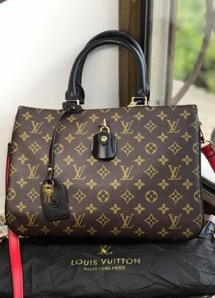 Женская сумка  жіноча коричневая Louis Vuitton Луи Виттон