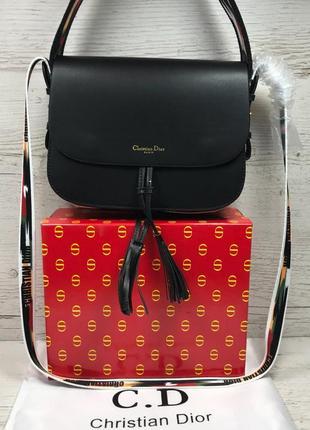 Женская сумка жіноча черная чорна Dior Диор