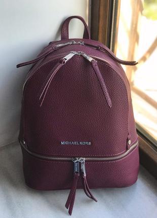 Женский рюкзак жіночи червоний красный Michael Kors Майкл Корс