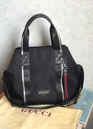 Женская спортивная дорожная сумка жіноча Gucci Гуччи