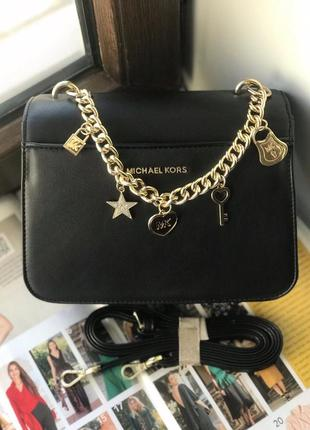 Женская сумка жіноча чорна чёрная Michael Kors Майкл Корс