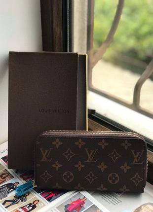 Женский кошелек клатч жіночий гаманець Louis Vuitton Луи Виттон