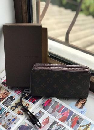 Женский кошелёк клатч жіночий гаманець  Louis Vuitton Луи Виттон