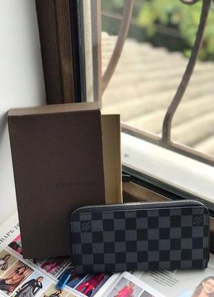 Женский мужской унисекс клатч кошелёк Louis Vuitton Луи Виттон
