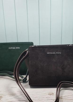 Женская сумка Michael  Kors Майкл Корс коричневая хаки жіноча