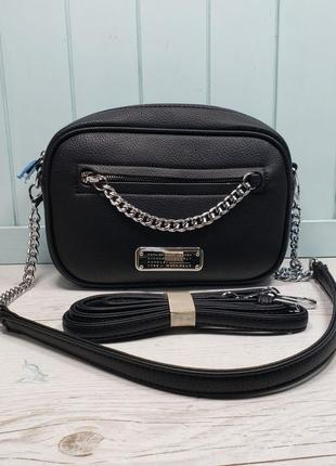 Женская сумка Marc  Jacobs Марк Якобс жіноча чорна черная