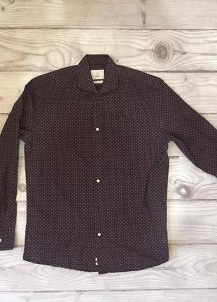 Рубашка мужская black
