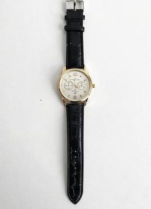 Часы наручные ulysse nardin-maxi marine white ремешок черный