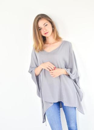 Apricot кроп-топ блуза фасона oversize с открытыми плечами и а...