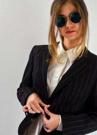 Marks&spencer классический блейзер, пиджак, жакет в полоску