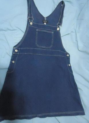 Джинсовый сарафан. джинсовое платье. джинсовий сарафан. джинсо...