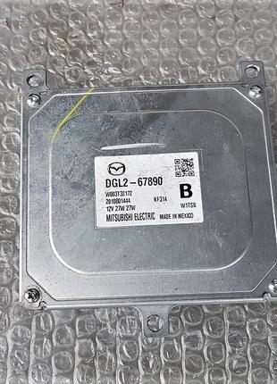 DGL2-67890 Блок розжига фары ксенон на Mazda CX30