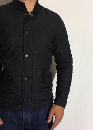 Мужская стеганая куртка barbour