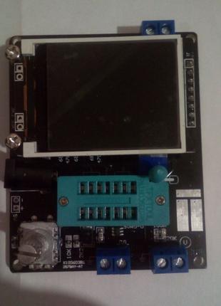 Тестер радиоэлементов , транзистотестер, частотомер GM328
