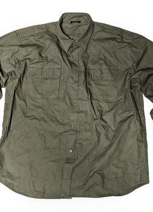 Mil tec u.s рубашка тактическая милитари износостойкая рип стоп