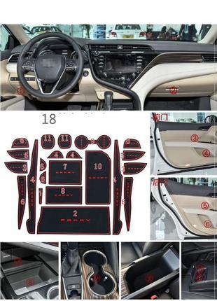 Тойота Камри Toyota Camry коврики V50-V70
