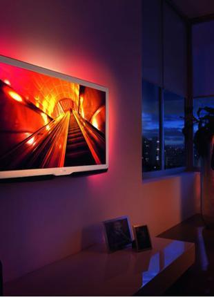 Светодиодная лента подсветка интерьерная для ПК телевизора