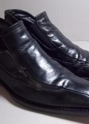 """Чехия!кожаные ботинки """"вata"""" 40р(27 см).отличное состояние!"""