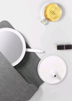 ⁣Зеркало для макияжа Xiaomi DOCO Daylight Mirror White HZJ001
