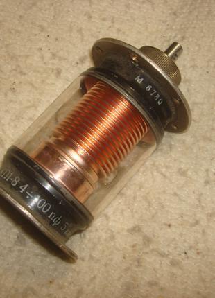 Переменный  конденсатор  КП 1 - 8