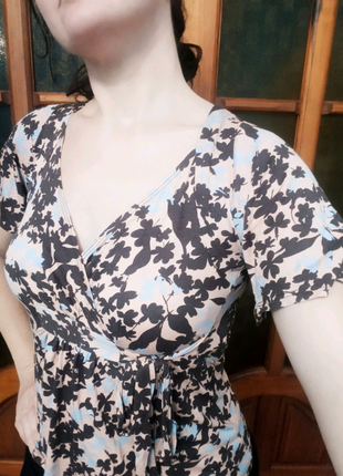 Блуза Topshop женская с цветочным принтом, S/M